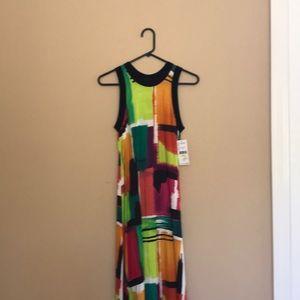 NWT Karen Kane multicolor tank dress